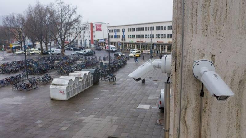 Die Videokameras sollen am Heidelberger Willy-Brandt-Platz für mehr Sicherheit sorgen. (Foto: Polizeipräsidium Mannheim)