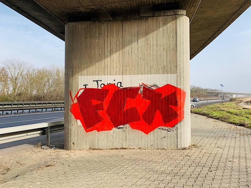 Graffiti (Foto: Polizei RLP)