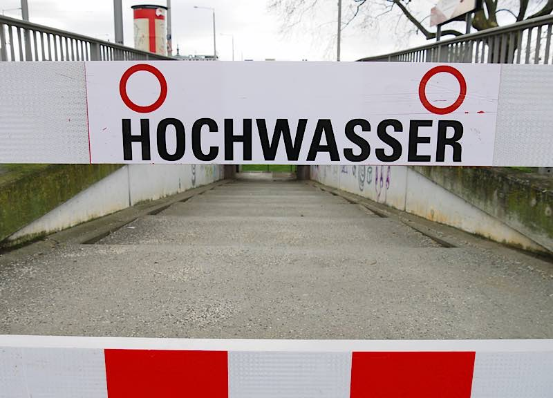 Symbolbild Hochwasser (Foto: Stadt Mannheim)