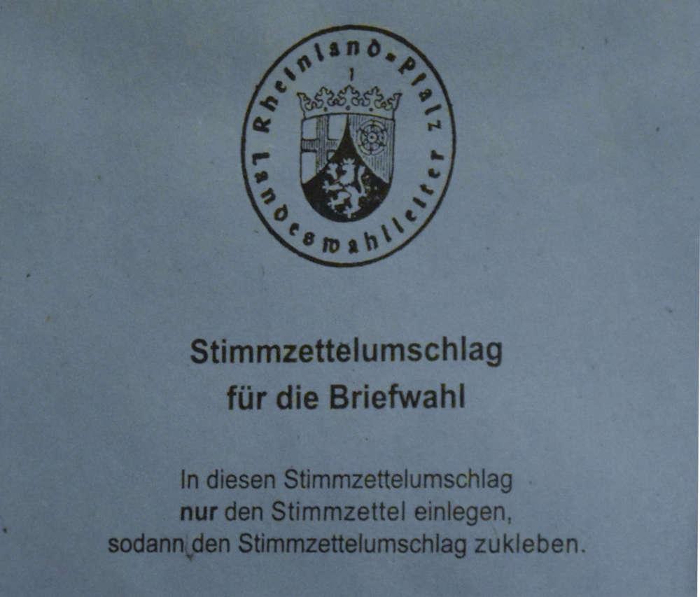 Symbolbild Briefwahl in Rheinland-Pfalz