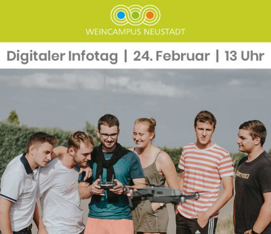 Digitaler Infotag (Foto: Weincampus/Stephan Presser)