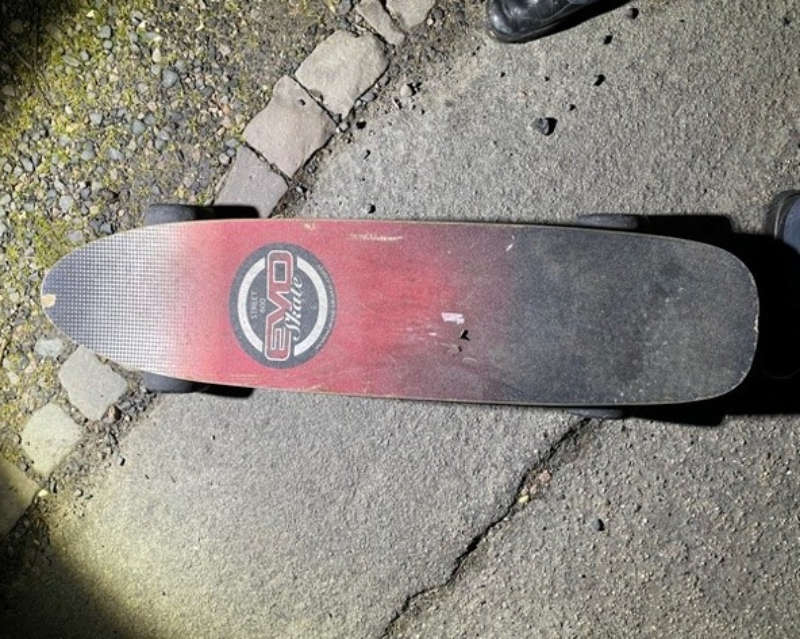 Skateboard (Foto: Polizei RLP)