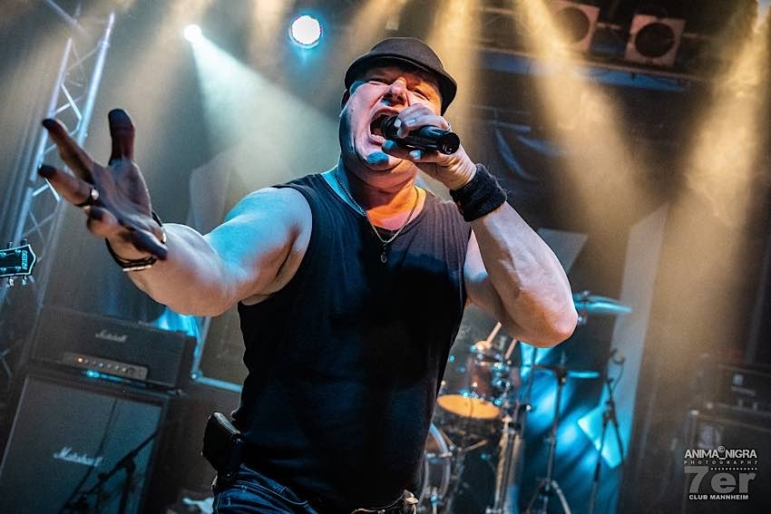 "Ein echter Rocker: Christian ""Keule"" Haas. (Quelle: Anima Nigra Photography)"