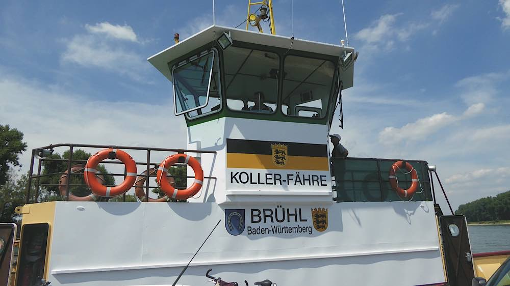 Die Kollerfähre (Foto: Landratsamt Rhein-Neckar-Kreis)