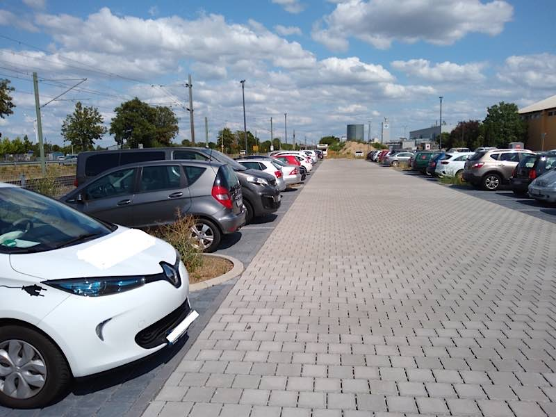 Park + Ride Parkplatz in Haßloch (Foto: VRN)