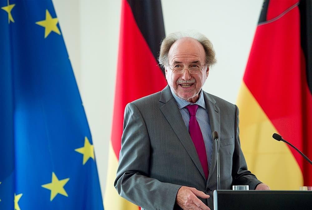Der wiedergewählte Präsident des Landesmusikrats Rheinland-Pfalz: Peter Stieber. (Foto: Staatskanzlei Rheinland-Pfalz/Tosten Silz)
