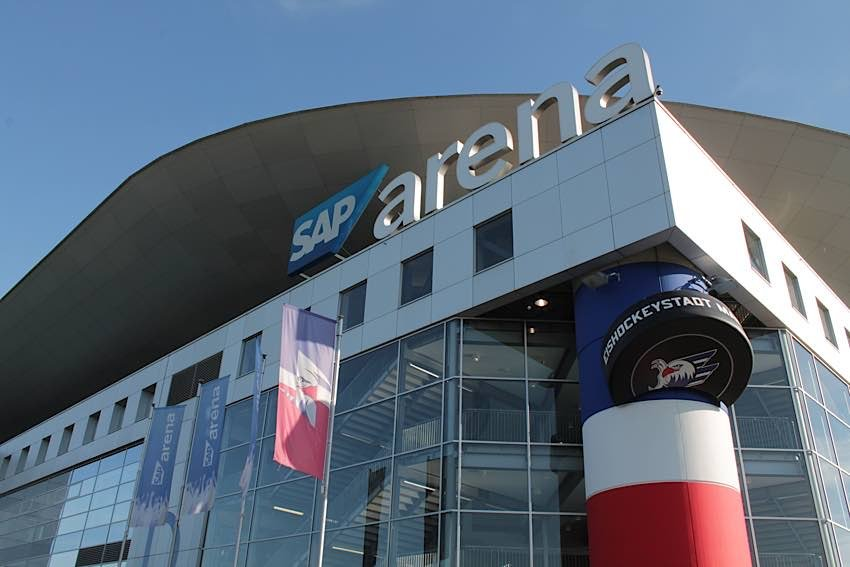 SAP-Arena Mannheim (Foto: Michael Sonnick)