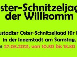 Oster-Schnitzeljagd (Quelle: Willkomm Gemeinschaft Neustadt e.V.)
