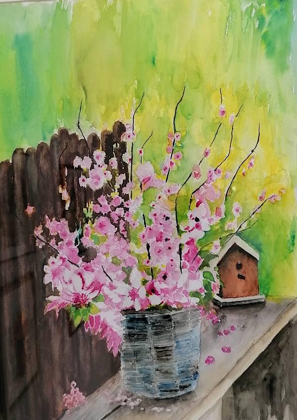 Gemälde von Robert Rissel