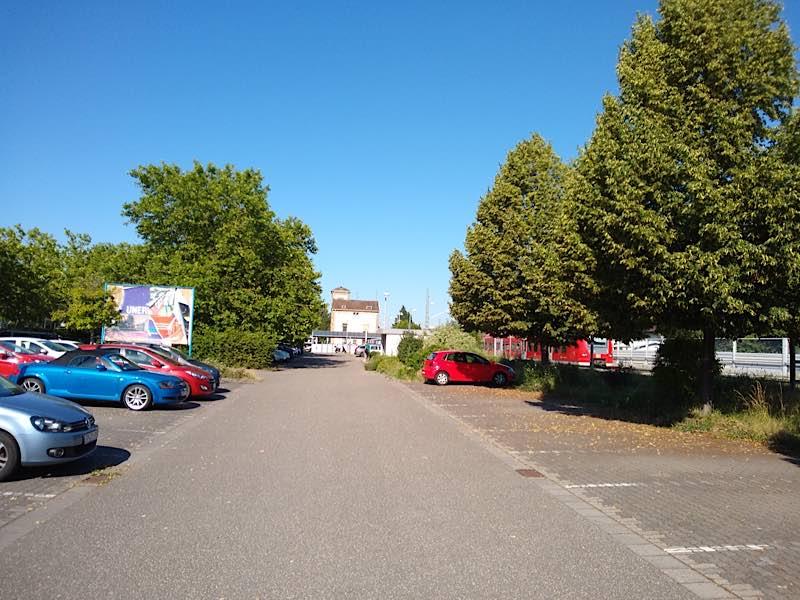 Park + Ride Parkplatz in Böhl-Iggelheim (Foto: VRN)