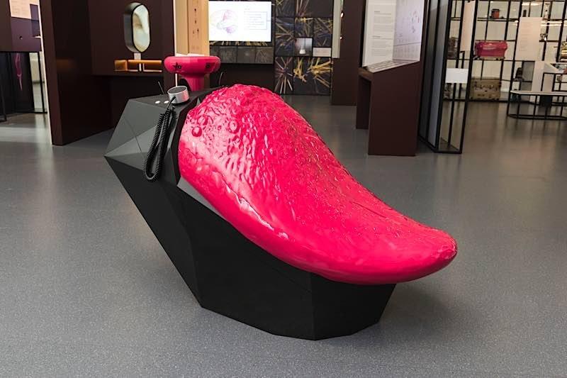 Modell einer menschlichen Zunge Hergestellt vom Deutschen Museum, München (Foto: Deutsches Museum)