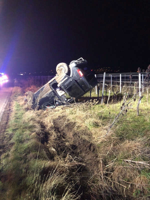 Bild des Unfallfahrzeugs (Foto: Polizei RLP)