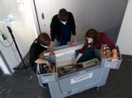 Notfallbox (Quelle: ZKM | Zentrum für Kunst und Medien Karlsruhe, Foto: Christof Hierholzer)