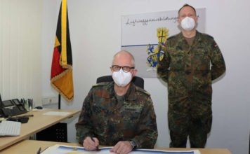 Truppenbesuch Kommandeur Bodengebundene Verbände (Foto: StFw Frank Wiedemann)