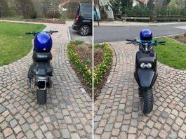 Wem gehört dieser Roller? (Foto: Polizei RLP)