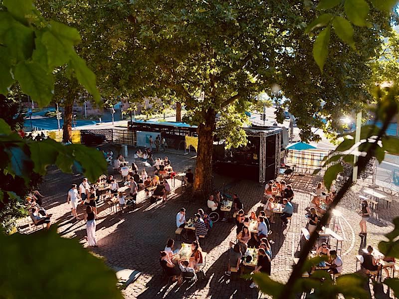 Sommerbühne (Foto: Karlstorbahnhof)