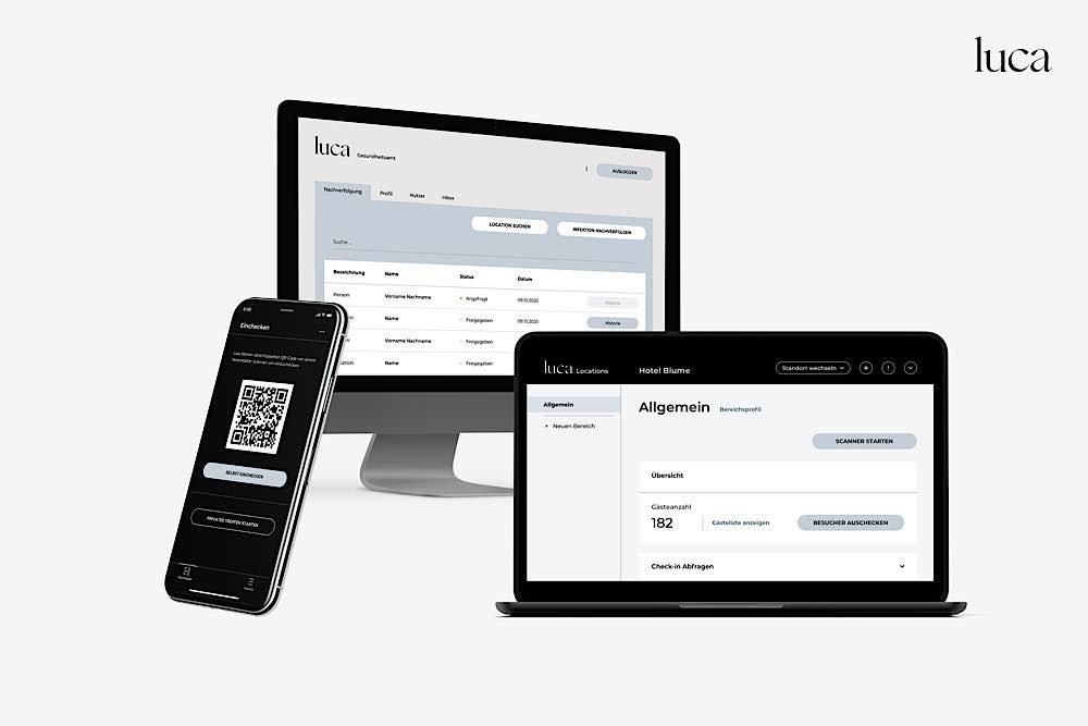 Symbolbild luca-App (Foto: culture4life GmbH)