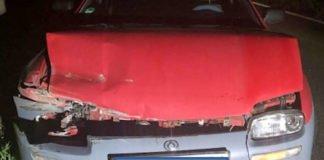 Verkehrsunfall auf der A65 an der AS NW-Nord/B38 (Foto: Polizei RLP)