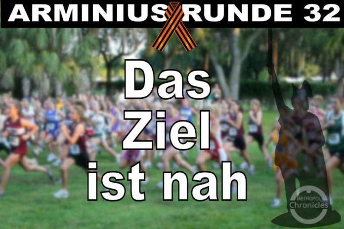 Arminius Runde 32 - Das Ziel ist nah