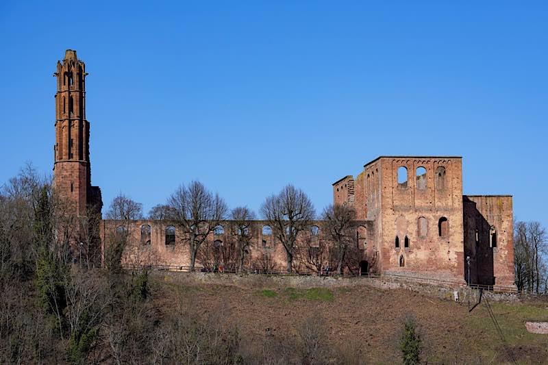 Klosterruine Limburg bei Bad Dürkheim (Foto: Holger Knecht)
