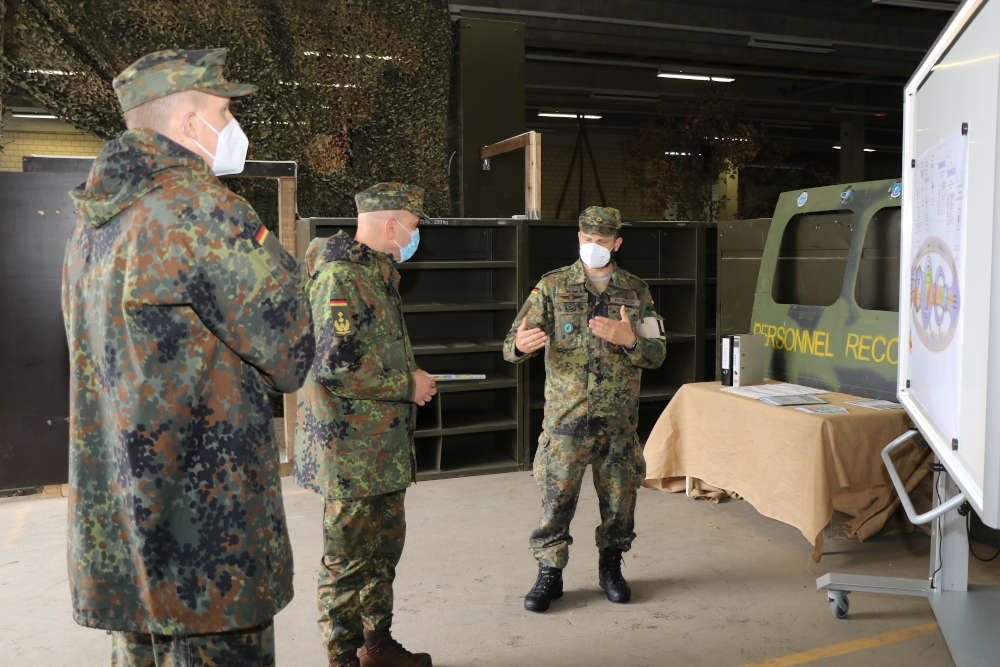 Vorstellung der SERE Ausbildung (Foto: Frank Wiedemann/Bundeswehr)