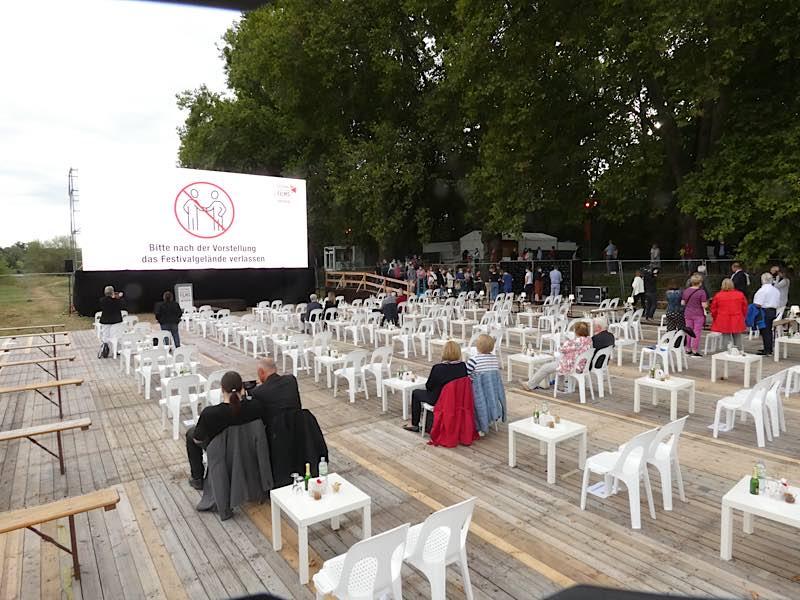 Symboldbild Open Air Kino (Foto: Hannes Blank)