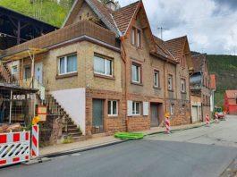Glasfaserkabelverlegung in Frankeneck am 04. Mai 2021 (Foto: Holger Knecht)
