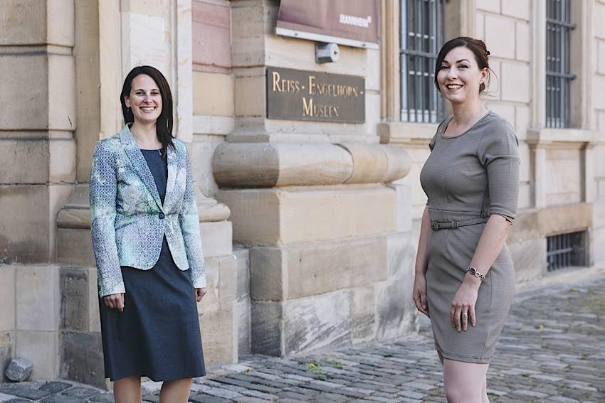 Die beiden neuen Direktorinnen: Dr. Viola Skiba (links) und Dr. Sarah Nelly Friedland (rechts) (Quelle: rem, Foto: Maria Schumann)