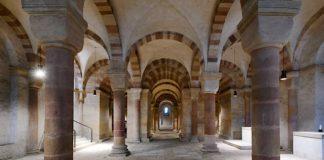 Blick in die Krypta des Speyerer Doms (Quelle: Domkapitel Speyer, Foto: Klaus Landry)