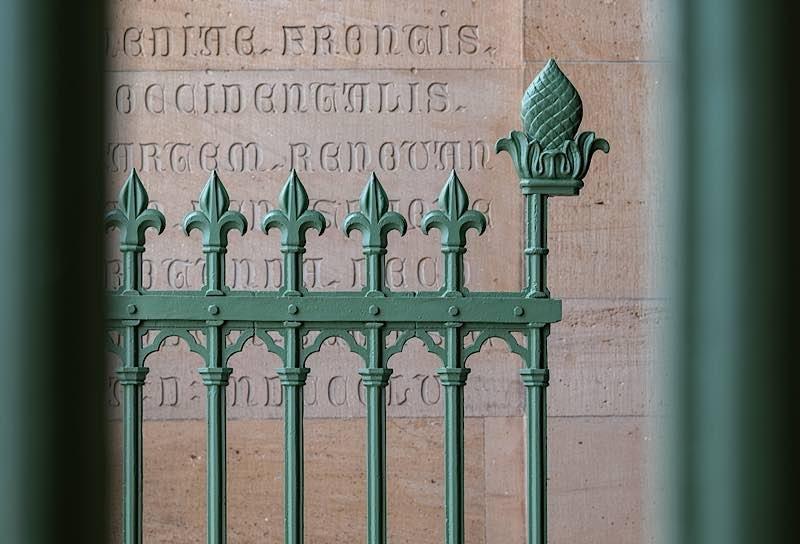Gitter zur Vorhalle (Quelle: Domkapitel Speyer, Foto: Klaus Landry)