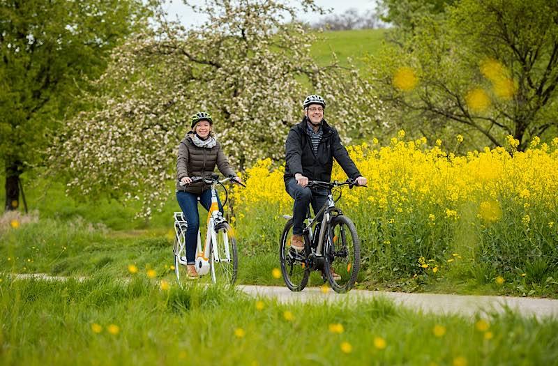 Radfahren im Rhein-Neckar-Kreis (Foto: Tobias Schwerdt)