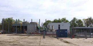 Das Geothermiekraftwerk in der Eutzinger Straße in Landau. (Quelle: Stadt Landau)