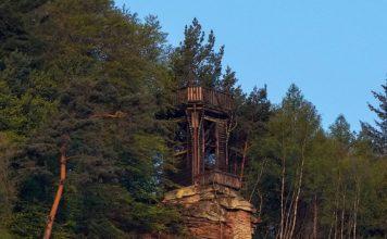 Dicker-Stein-Turm in Lambrecht (Foto: Holger Knecht)