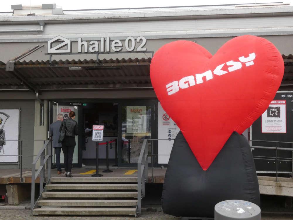 Banksy-Ausstellung in Heidelberg (Foto: Sarah Kohl)
