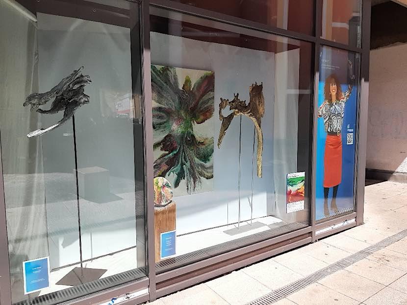 Ausstellung von Claudia Böheim im Klemmhof (Foto: Stadtverwaltung Neustadt)