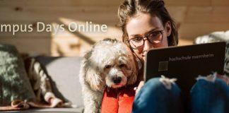 Campus Days Online (Foto: Hochschule Mannheim)