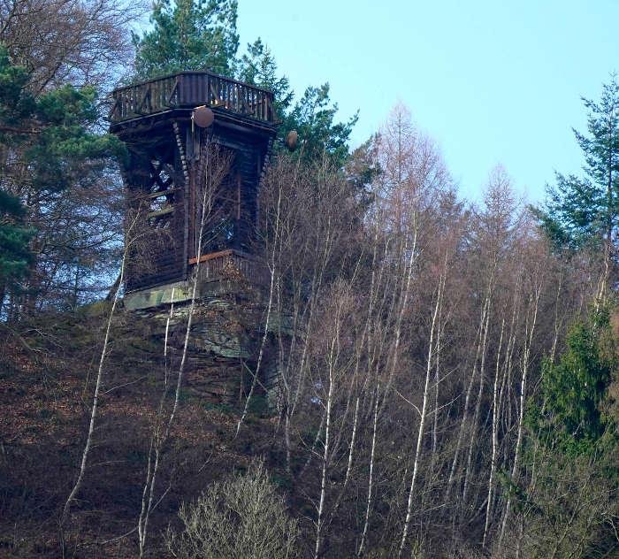Der Dicker-Stein-Turm vorher (Foto: Holger Knecht)