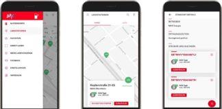 """Die kostenlose App """"MVV eMotion"""" zeigt ab sofort auch den Belegungsstatus der Mannheimer E-Ladepunkte an (Foto: MVV Energie AG)"""