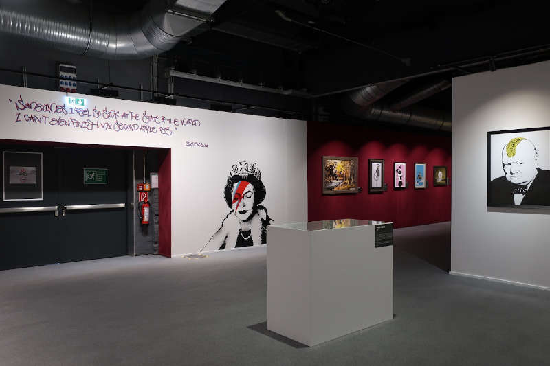 Banksy-Ausstellung (Foto: Sarah Kohl)