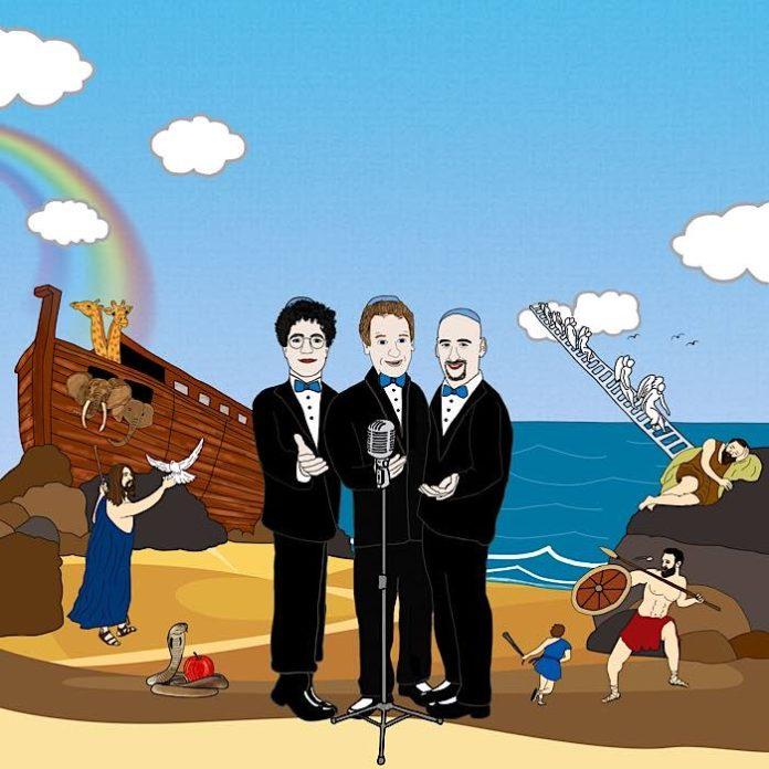 Konzert mit drei Kantoren (Bildquelle: Artwork: Asaf Lewkowitz)
