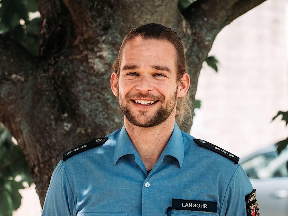 Polizeihauptkommissar Florian Langohr (Foto: Polizei RLP)