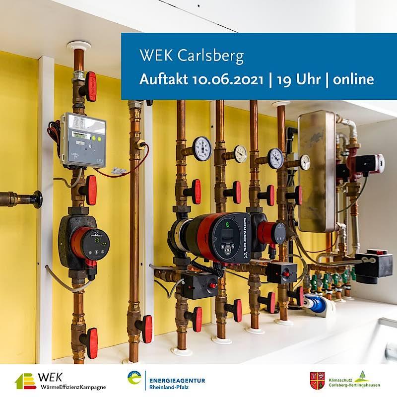 Auftakt der WärmeEffizienzKampagne in Carlsberg ist am 10.06.2021 (Foto: Energieagentur Rheinland-Pfalz)