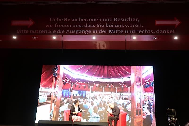 Heidelberger Literaturtage (Foto: Sarah Kohl)