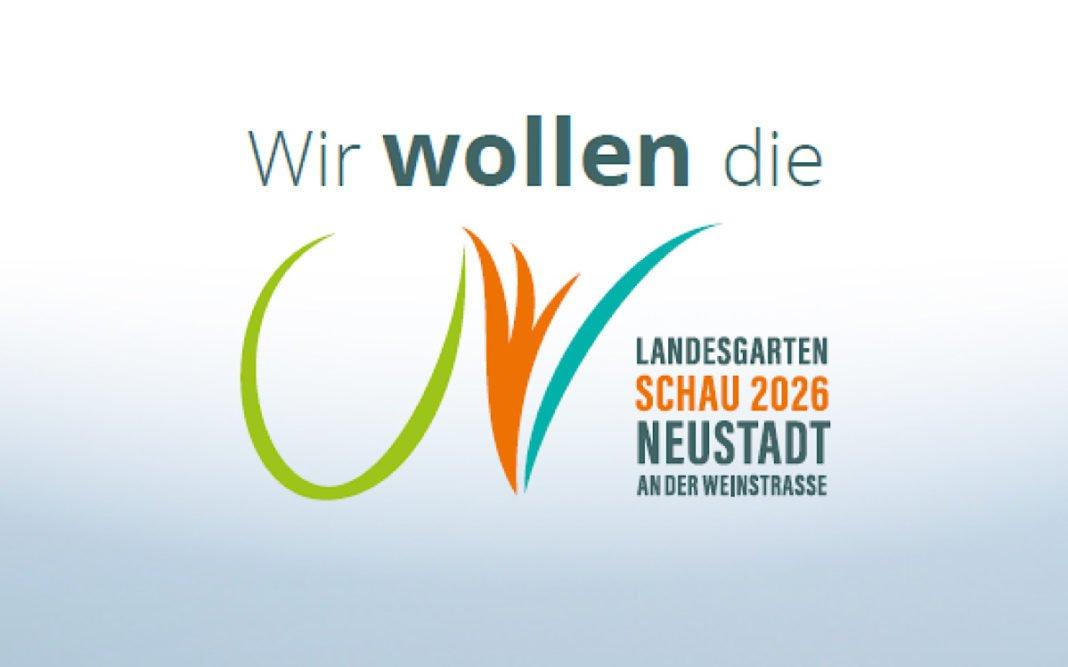Logo Landesgartenschau (Quelle: Stadtverwaltung Neustadt)