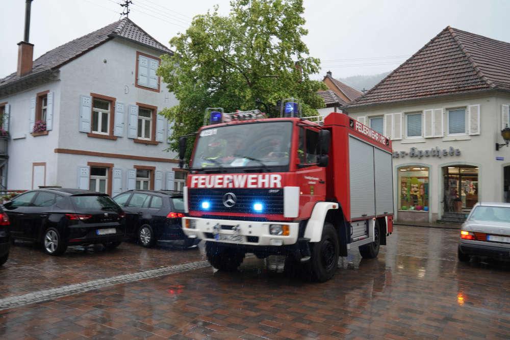 Feuerwehr im Einsatz (Foto: Holger Knecht)