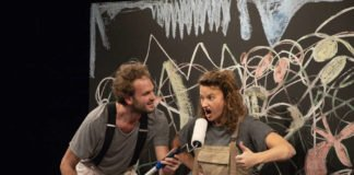 Simon Labhart und Nadja Rui in »Ich bin für mich!« (Foto: Susanne Reichardt)