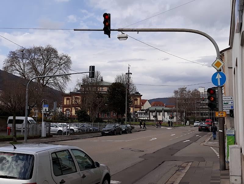 Landauer-/ Hohenzollernstraße (Foto: Stadtverwaltung Neustadt)