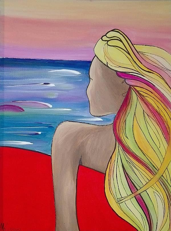 Aquarellmalerei von Martina Kaschlan