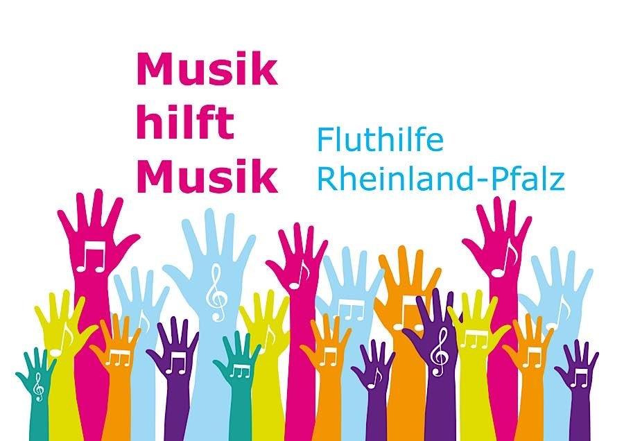 """""""Musik hilft Musik"""" - Landesweite Sammelaktion für musiktreibende Flutopfer (Quelle: LMR RLP)"""