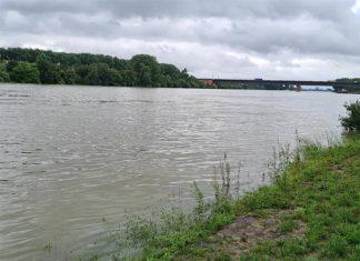 Rhein-Hochwasser (Foto: Feuerwehr Frankenthal)